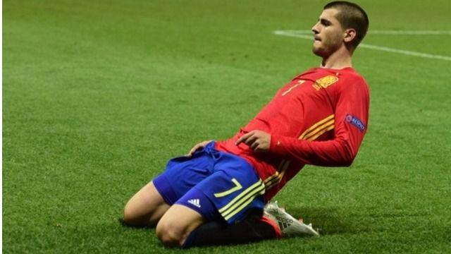 Morata salva a La Roja en el último suspiro en el amistoso ante Colombia (2-2)