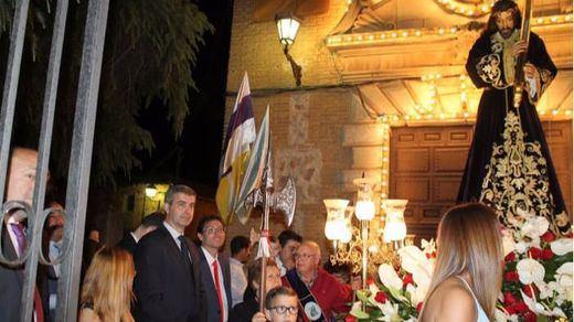 El presidente de la Diputación de Toledo participó en la procesión del Cristo de las Aguas de Nambroca