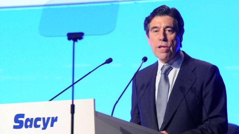 Manuel Manrique, presidente de Sacyr, durante la Junta General de Accionistas (Foto: Sacyr)