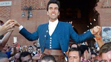 Sergio Galán sale a hombros de Las Ventas