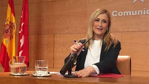 El 'recadito' de Cifuentes a quienes rechazan la donación de Amancio Ortega