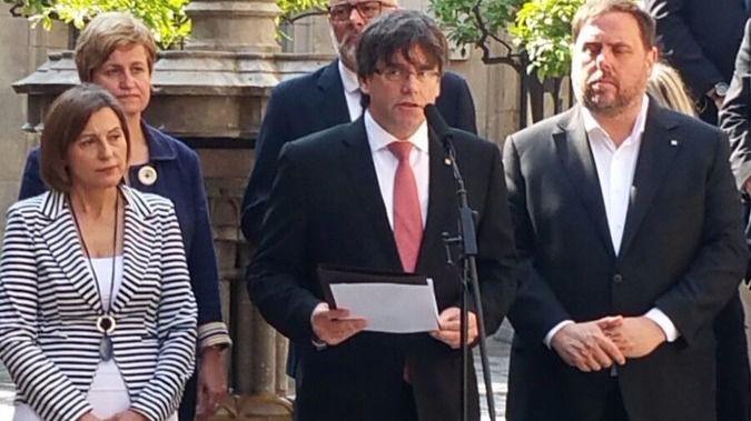 La Fiscalía de Cataluña amplía su querella contra el Govern por la fecha y la pregunta del referéndum
