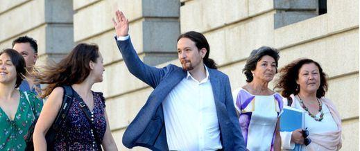 Podemos insta al PSOE a encabezar una segunda moción de censura ante el fracaso de la primera