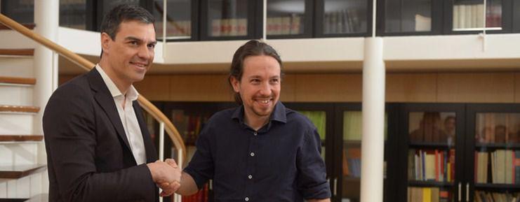 El PSOE no da pie a un pacto con Podemos para sacar a Rajoy del Gobierno
