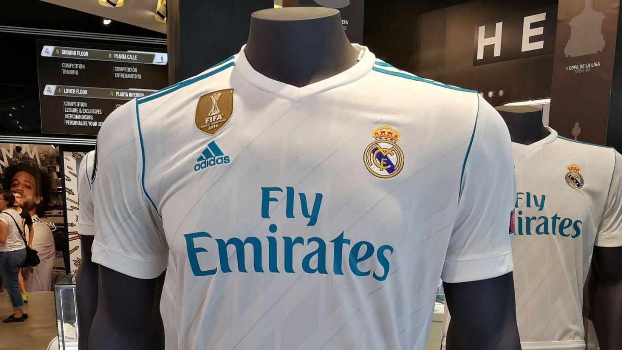 Les ofrecemos en primicia la nueva camiseta del Real Madrid para la ... 0b1f1e9d8ef1b