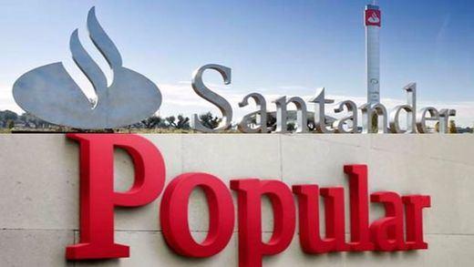 El Santander buscará una fórmula para compensar a los pequeños accionistas de Banco Popular