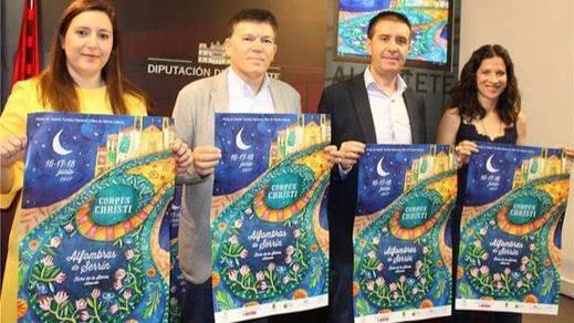 Triple apoyo institucional a la ya mítica Fiesta de las Alfombras de Serrín de Elche de la Sierra