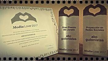 El guion protagoniza, con Abcguionistas, los premios periodísticos Medialover 2017