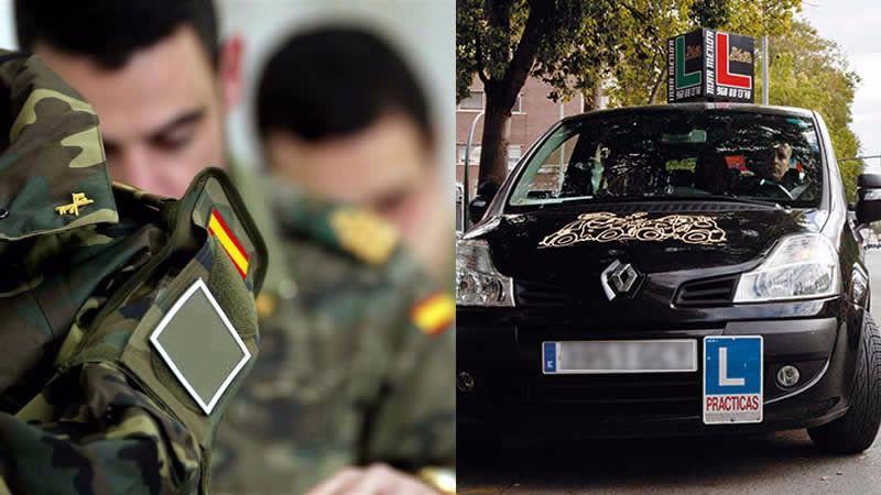 El Gobierno pretende sustituir a los examinadores de tráfico por militares
