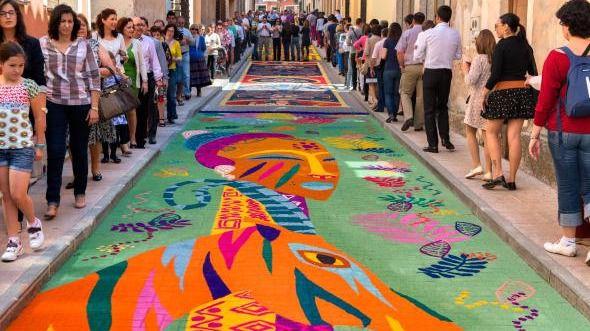 Castilla- La Mancha celebra el Corpus Christi en varios pueblos con Fiestas de Interés Nacional y Regional