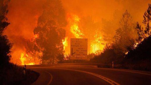 62 fallecidos devorados por las llamas en el incendio de Portugal
