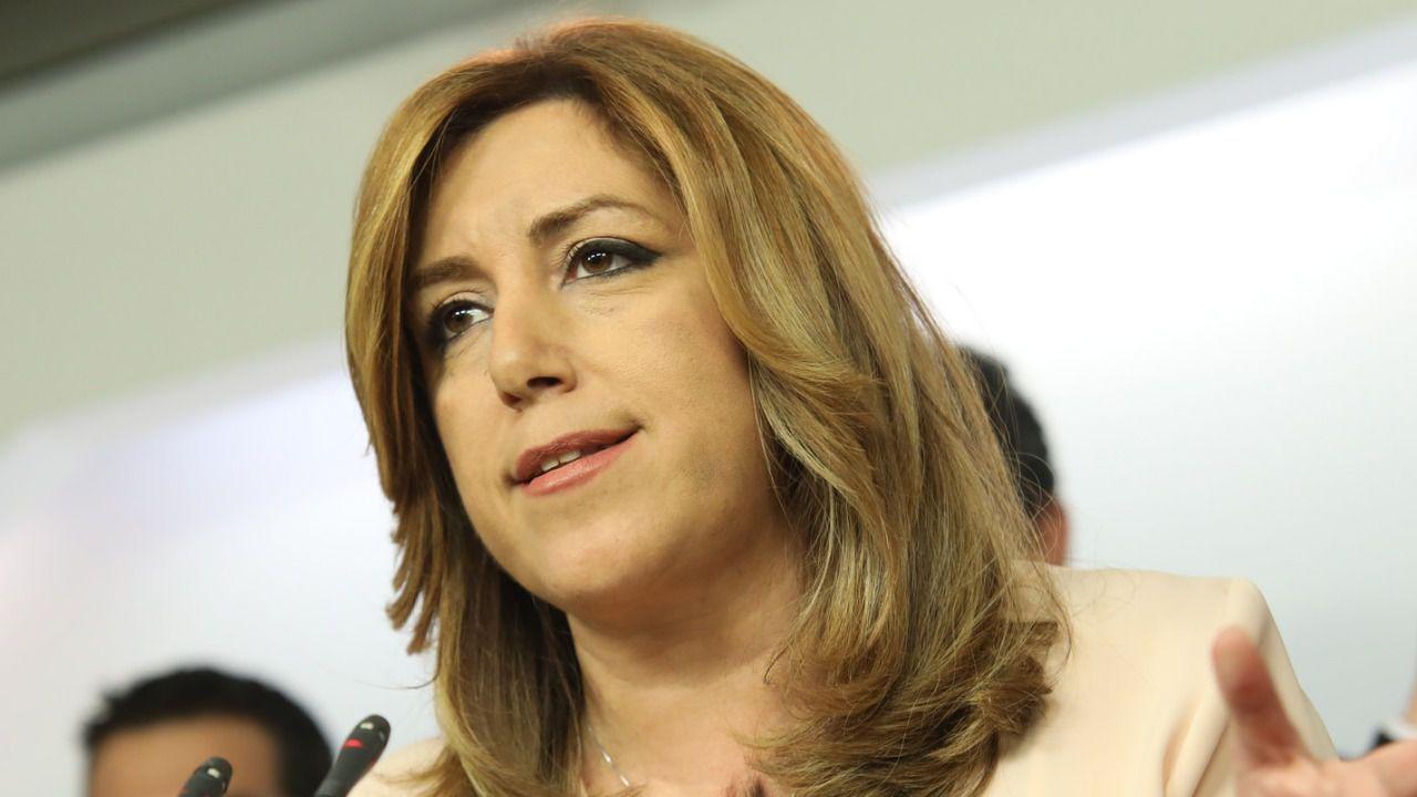 Susana Díaz confirma su rendición: no pidió