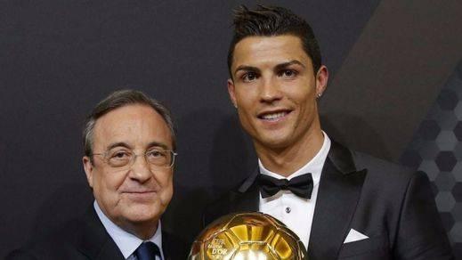 Florentino Pérez se arremanga para frenar la 'fuga' de Cristiano Ronaldo