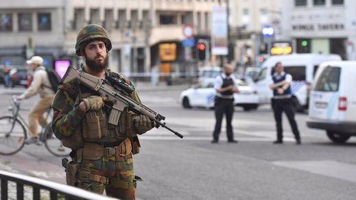 Evitan un atentado en la estación de Bruselas al matar a un terrorista con explosivos