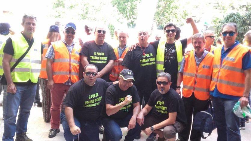 Este miércoles 21 de junio, tercera jornada de huelga de examinadores de la DGT