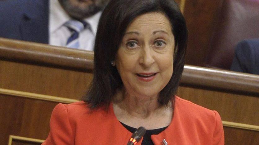 Margarita Robles inicia con mano dura contra Rajoy su papel de portavoz parlamentaria