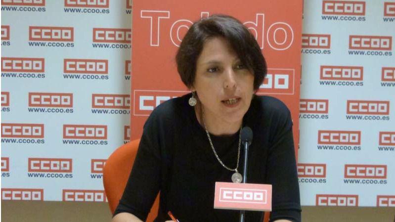 Encarna Sánchez. Fuente CCOO
