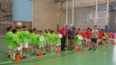 Clausuradas las Escuelas Infantiles del Albacete Futbol Sala, que cuentan con la colaboración de la Fundación Globalcaja