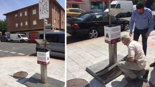 Un pueblo de Guadalajara inventa urinarios para perros