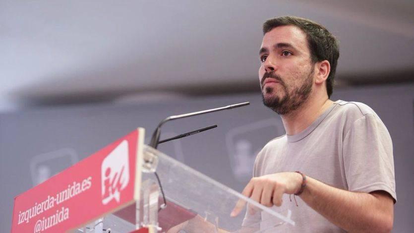 Garzón, por las claras respecto a la unión con Iglesias: 'Del trabajo de IU se apropia Podemos y esto perjudica a la alianza'