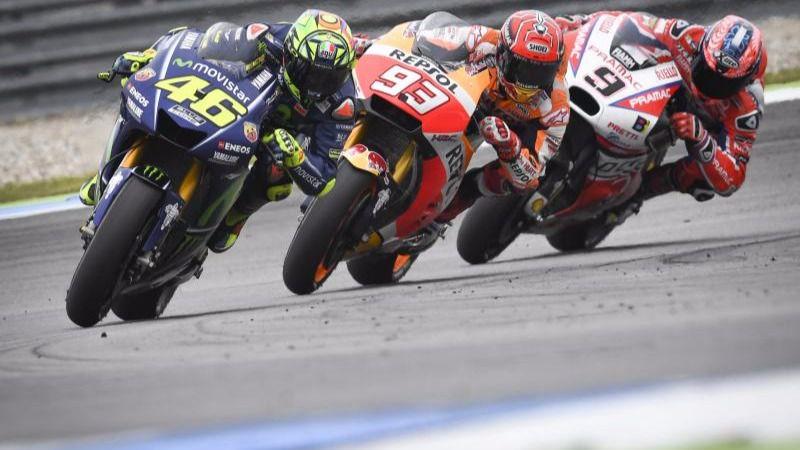 Moto GP: Rossi vuelve a la victoria en una mala carrera para los españoles
