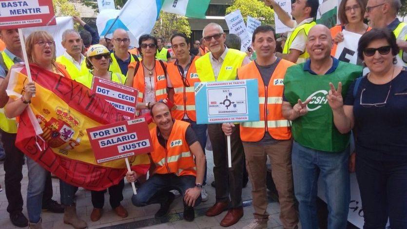 Los examinadores de tráfico (DGT) inician otra semana de huelga, más enfadados que nunca