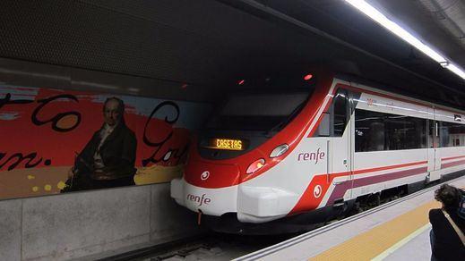 Pánico en un Cercanías de Madrid tras escuchar los pasajeros una explosión