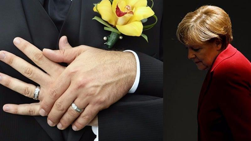 Alemania al fin se pone al día legalizando el matrimonio homosexual, pero Merkel vota en contra