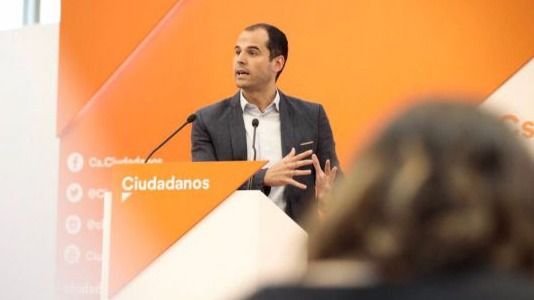 Ignacio Aguado comparece en la sede de Ciudadanos