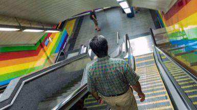 Metro de Madrid en el World Pride