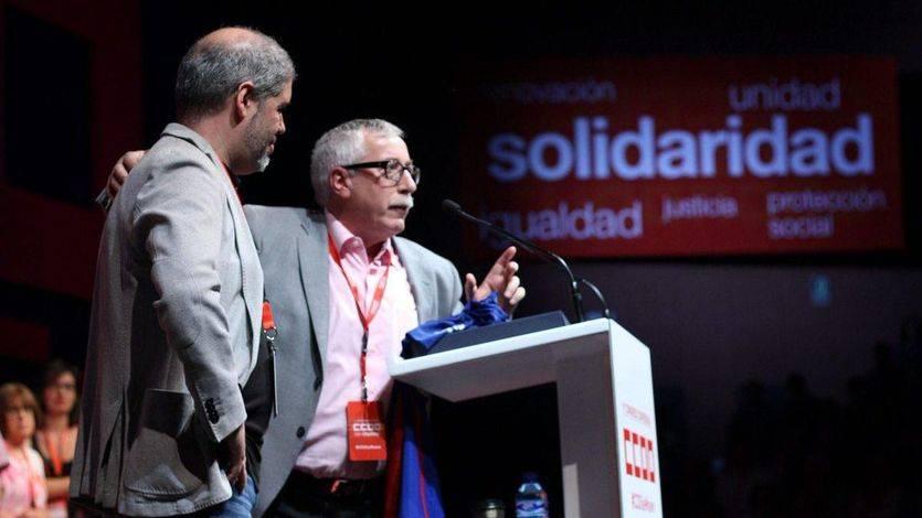 Unai Sordo inicia mandato en CCOO pidiendo la derogación de las reformas laborales de 2010 y 2012