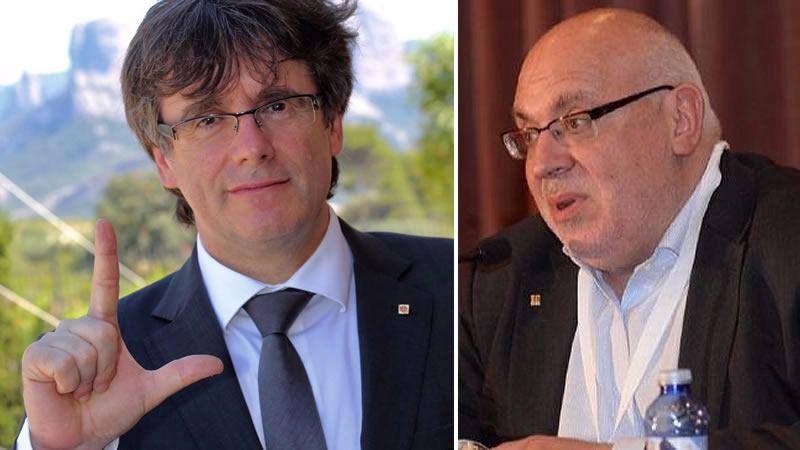 La purga estalinista de Puigdemont tras destituir al conseller Baiget abre una guerra en el nacionalismo catalán