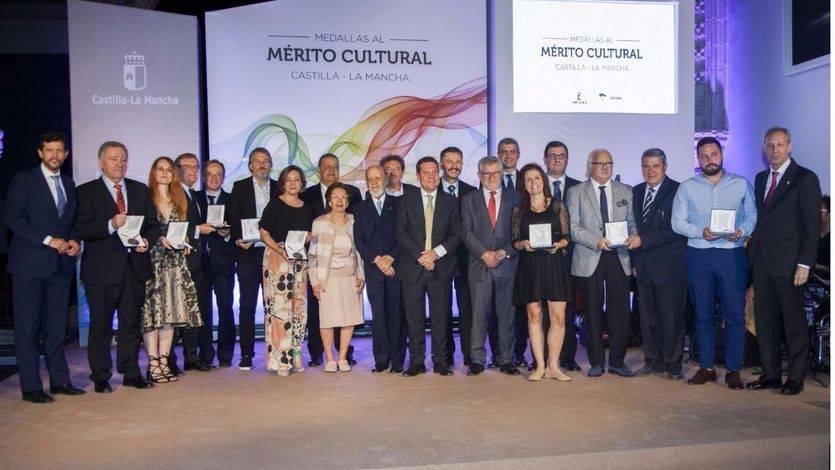 Castilla-La Mancha premió a los mejores en cultura con la entrega de las Medallas al Mérito (vídeo)