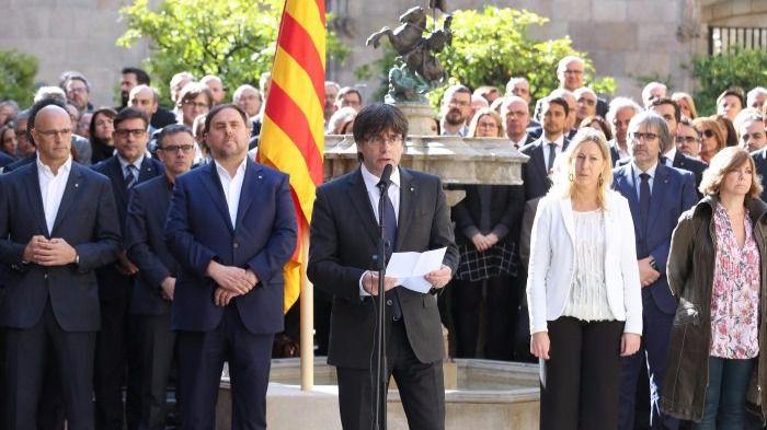 President de la Generalitat Carles Puigdemont