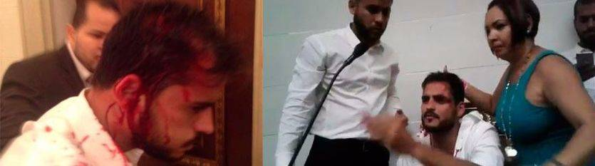 Diputado venezolano agredido