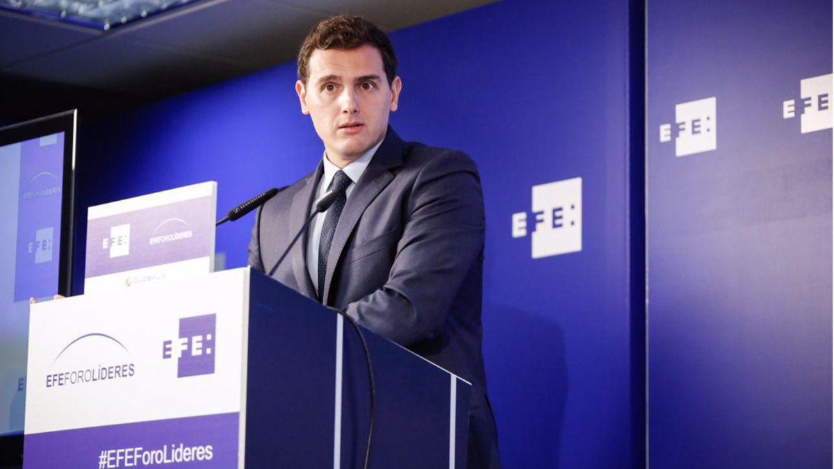 Rivera intentará conseguir 8.000 millones de euros en el presupuesto de 2018 para su pacto con el PP