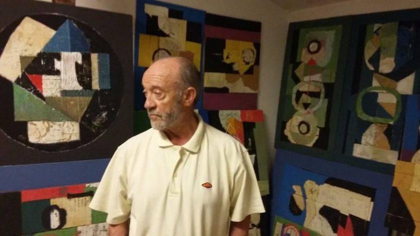 Abel Cuerda, uno de los grandes pintores de la abstracción, inicia una nueva etapa creativa