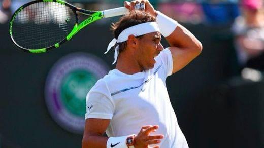 Wimbledon: Nadal se mete en octavos sin ceder un solo set