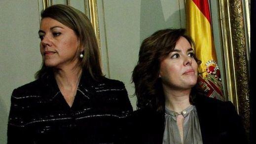 Otra legislatura con el Gobierno dividido en dos bloques: el liberal y el conservador o Soraya contra Cospedal