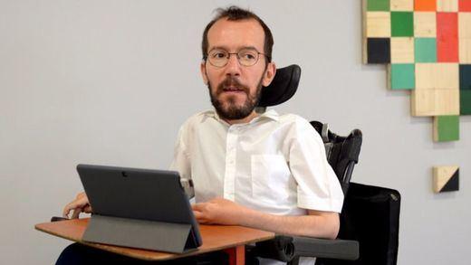 Pablo Echenique desautoriza la decisión de Podem sobre el referéndum y pide que se consulte a las bases para que se pronuncien