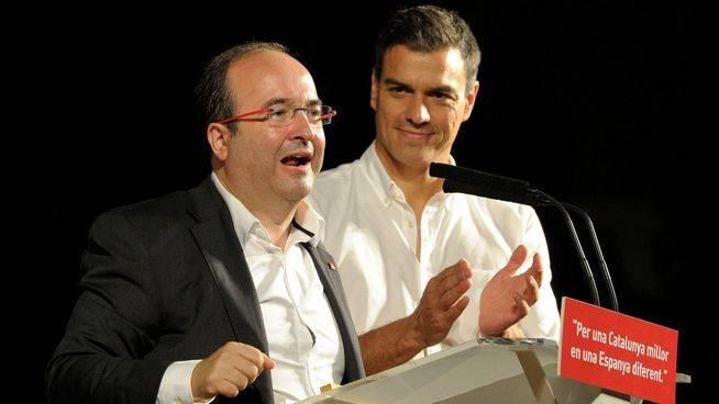 Más dinero y una reforma constitucional, la oferta del PSOE para Cataluña