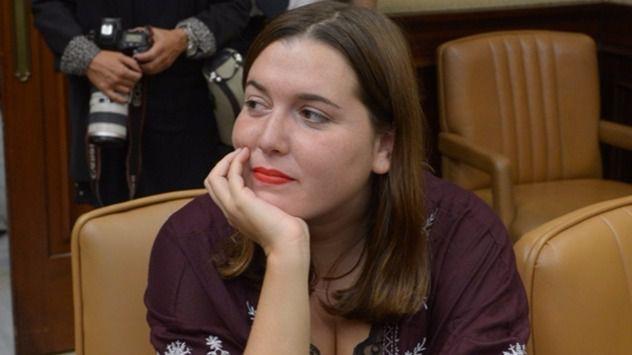Ángela Rodríguez (En Marea-Podemos): 'No vamos a aceptar un mercado de úteros bajo ningún concepto'