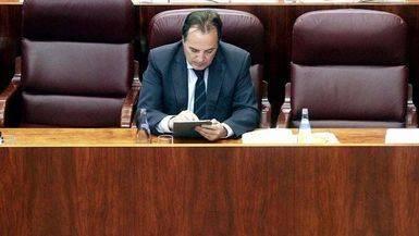 Jaime González Taboada, consejero de Medio Ambiente y Ordenación del Territorio de la Comunidad de Madrid