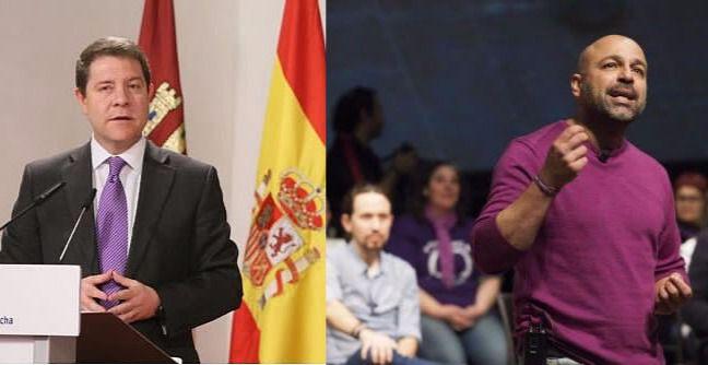 Cambio de guión que podría extenderse a la política nacional: Podemos estudia entrar en el gobierno socialista de Castilla-La Mancha