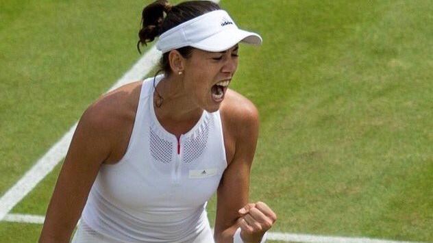 Muguruza se mete en la final de Wimbledon tras arrollar a Rybarikova