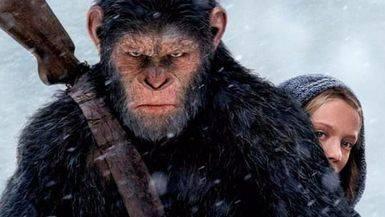 Las terceras partes de 'Cars' y 'El Origen del Planeta de los Simios' conquistan la cartelera
