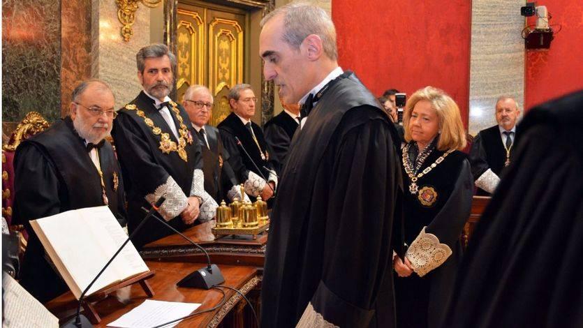 Alejandro Luzón toma posesión como Fiscal Anticorrupción