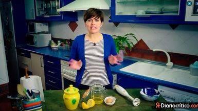 Teresa Colomina presenta su receta de mayonesa