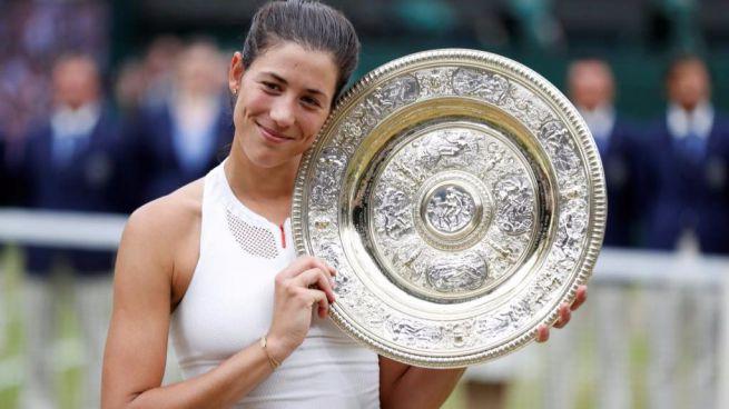 El título en Wimbledon dispara a Garbiñe hasta el quinto puesto del mundo en la lista WTA