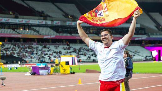 Mundiales Paralímpicos: nuevo éxito español con el bronce de Héctor Cabrera en jabalina (vídeo)